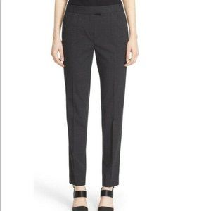 Lafayette 148 Irving Stretch Wool Straight Trouser